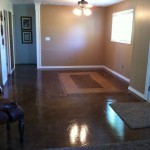 Finished room before furniture.
