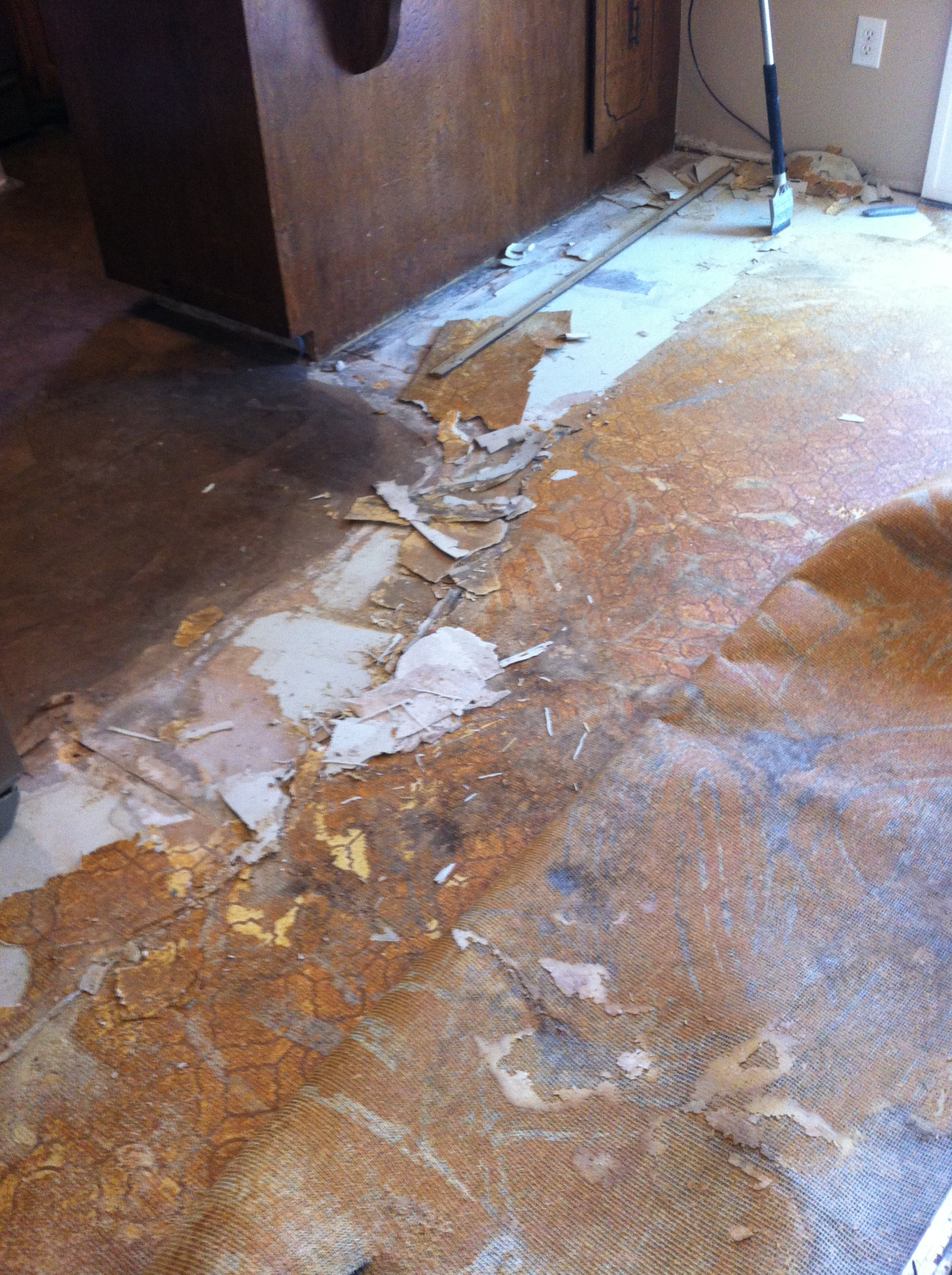 How To Remove Old Linoleum Off Concrete Floor Laminate