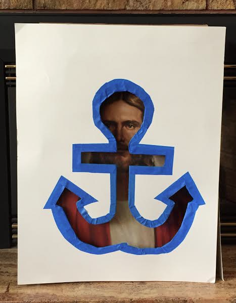 Fun visual for Christ being our anchor